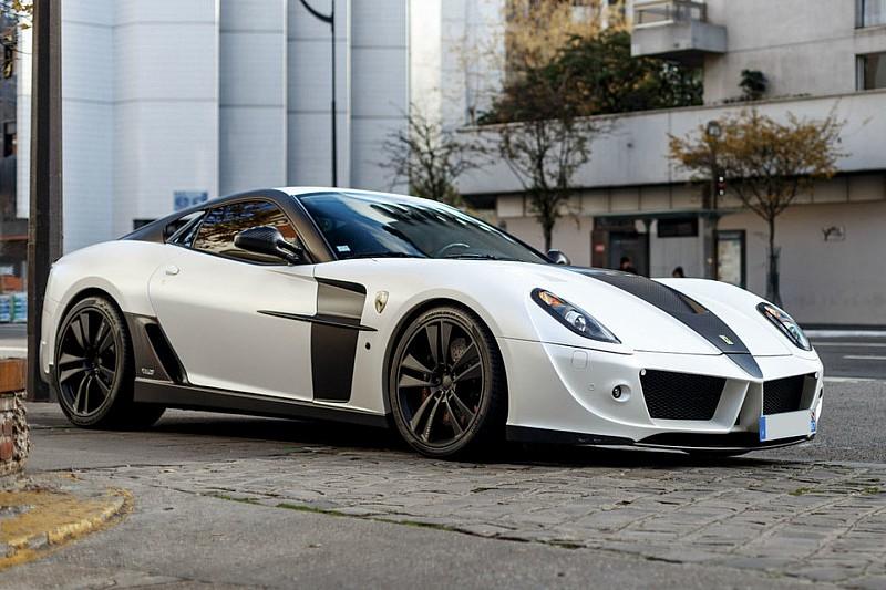 Découvrez l'une des cinq Ferrari 599 Stallone