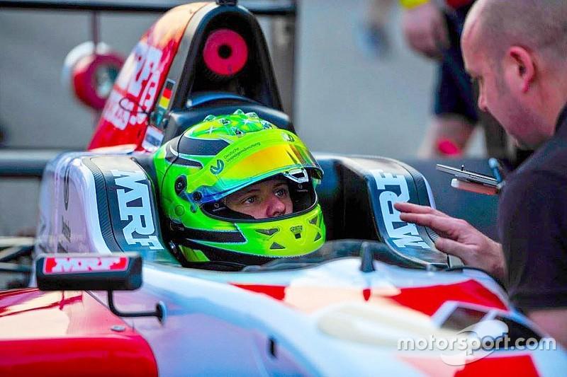 MRF Challenge Buddh: Schumacher dominasi Race 1