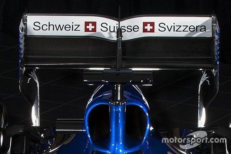 La Sauber C36-Ferrari resta un omaggio alla… Svizzera!