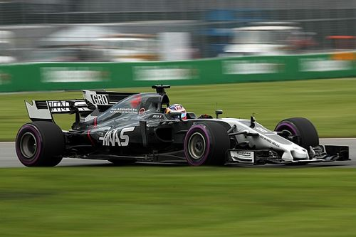 """Grosjean """"fed up of spinning"""" in Canada practice"""