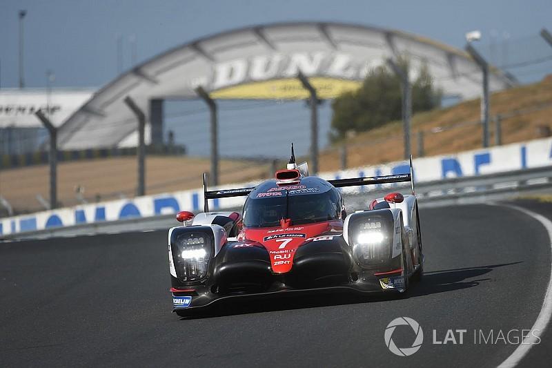 Toyota на три секунды опередила Porsche на тестах в Ле-Мане