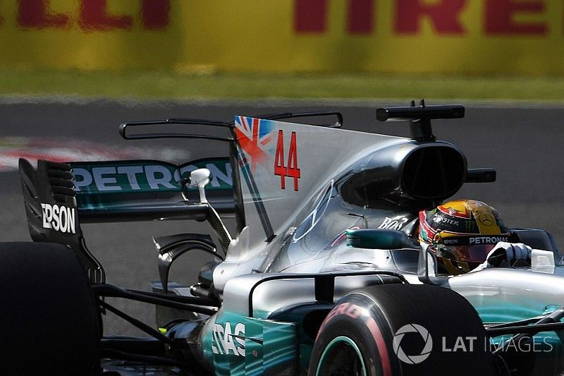 Tech analyse: Hoe Mercedes 'de diva' in bedwang hield op Suzuka