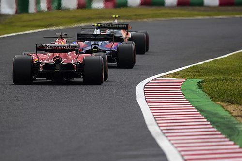 Így esett be Verstappen a tehetetlen Vettel és a Ferrari mellé