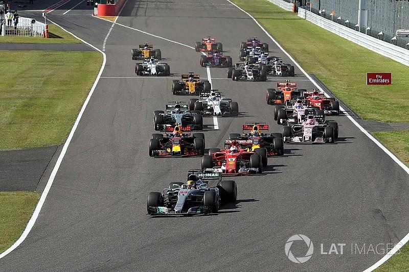 Formel 1 2017 in Suzuka: Das Rennergebnis in Bildern