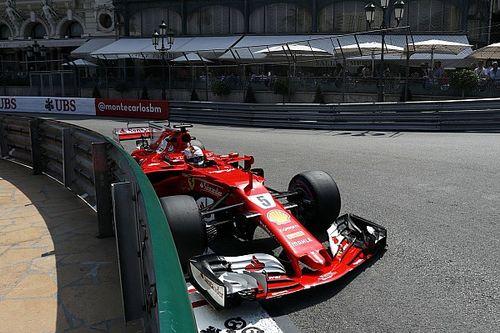 Monaco GP: Vettel flies in FP2 as Mercedes struggles