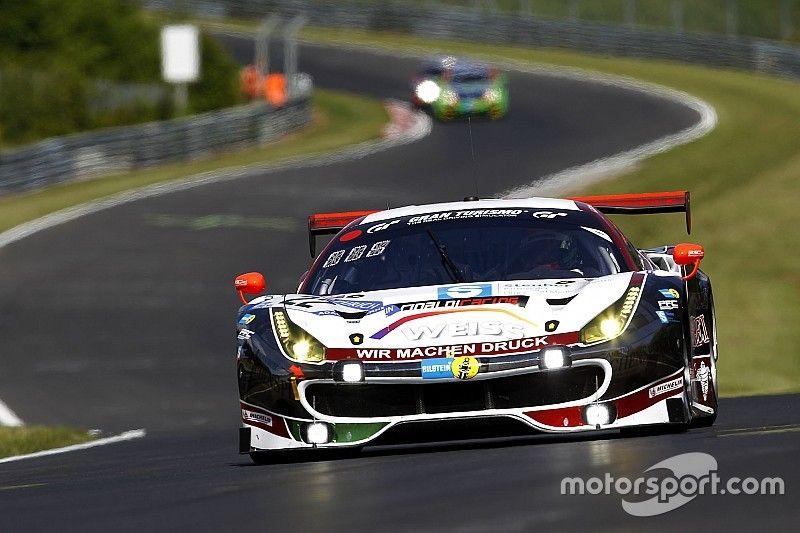 24 Ore del Nurburgring: riscossa Ferrari con Keilwitz nella Q2
