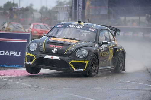 Tanner Foust wins Red Bull Global Rallycross Ottawa II
