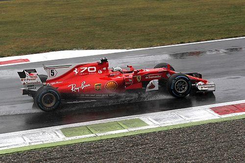 Ferrari: la SF70H è andata in crisi con le gomme full wet