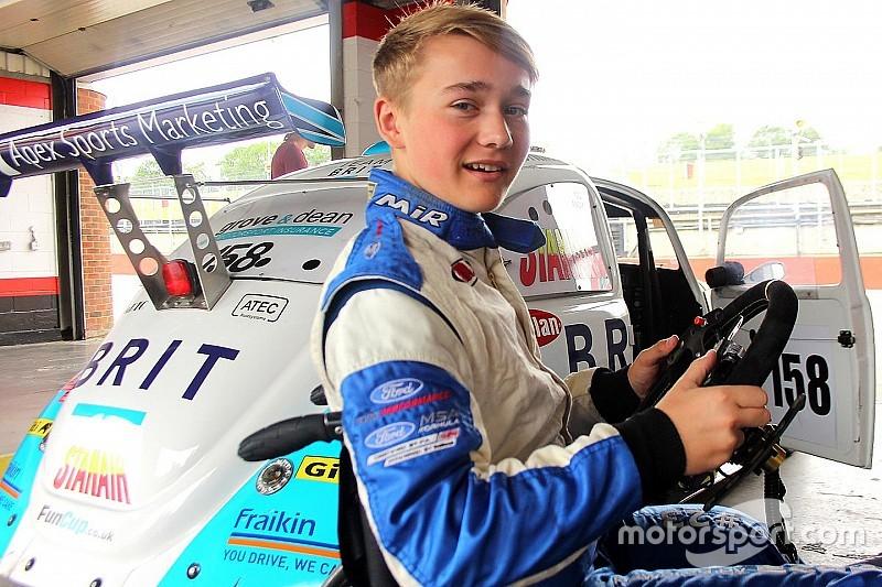 Billy Monger è già tornato a guidare una vettura da corsa!