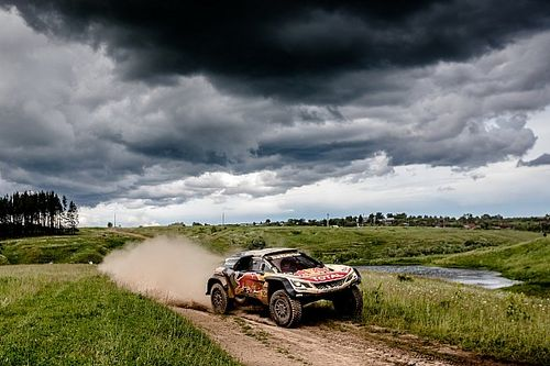 Silk Way Rally: Loeb and Kolomy win first stage