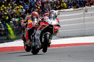 MotoGP Raceverslag Dovizioso klopt Marquez in spektakelstuk op de Red Bull Ring