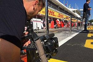 Mi trabajo en F1... Cámara de televisión en Fórmula 1 para España