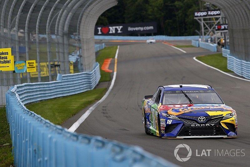 Kyle Busch lideró la primera práctica en Watkins Glen