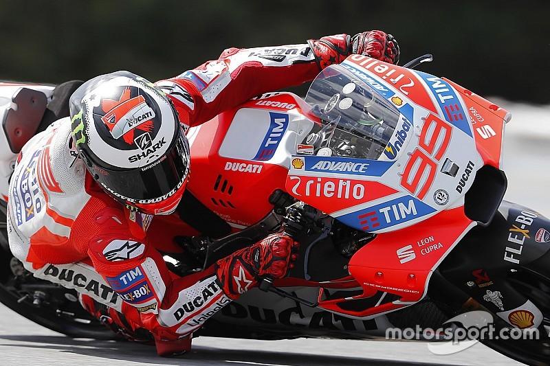 """Lorenzo: """"Sulla carta la Ducati si adatta perfettamente all'Austria"""""""