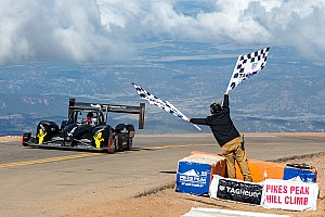 Hillclimb Race report Romain Dumas claimed third Pikes Peak overall win