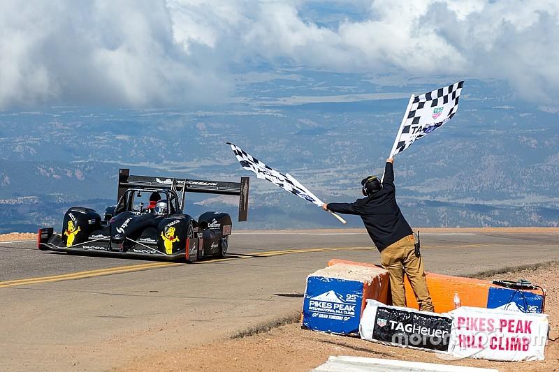 Romain Dumas claimed third Pikes Peak overall win