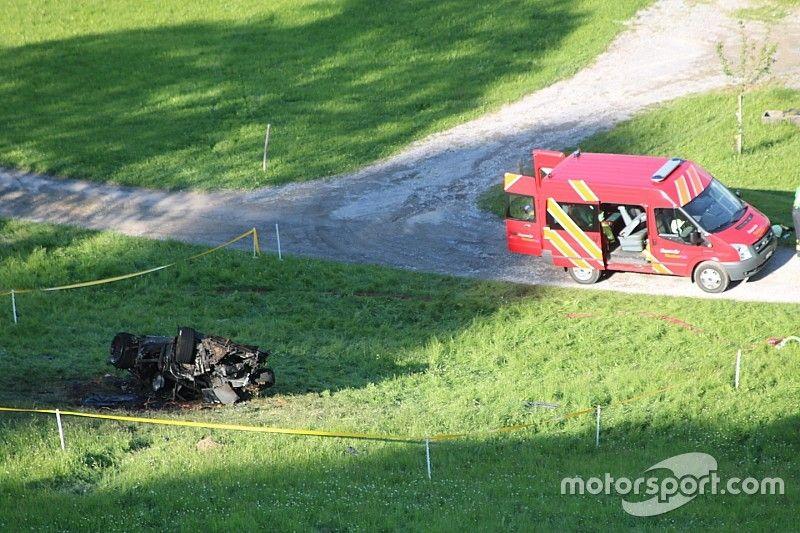 FIA requests data over Hammond hillclimb crash
