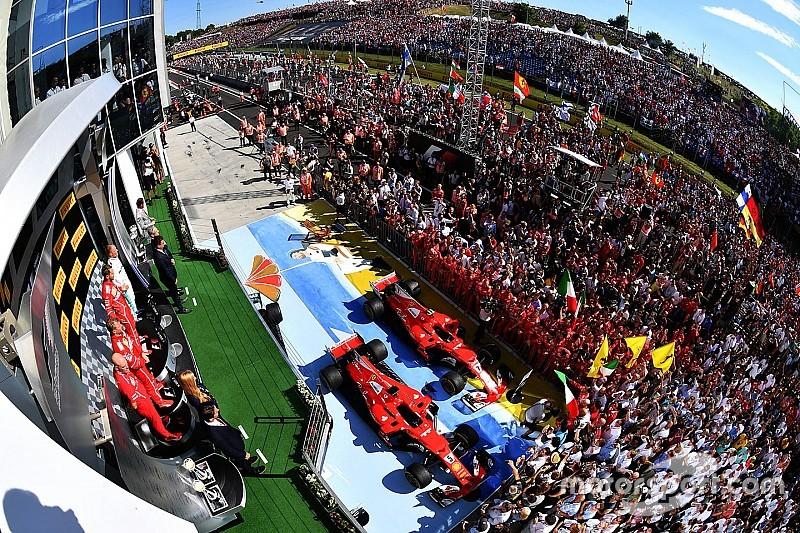 L'histoire derrière la photo - Vettel et les célébrations du podium