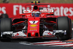 Formula 1 Breaking news Raikkonen: 2017 results not a reflection of my speed