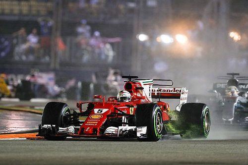 """Mercedes: """"Vettel nog niet uitgeschakeld voor wereldtitel"""""""