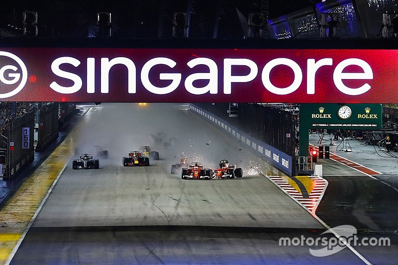 Los horarios del GP de Singapur: la carrera vuelve a una hora más tradicional