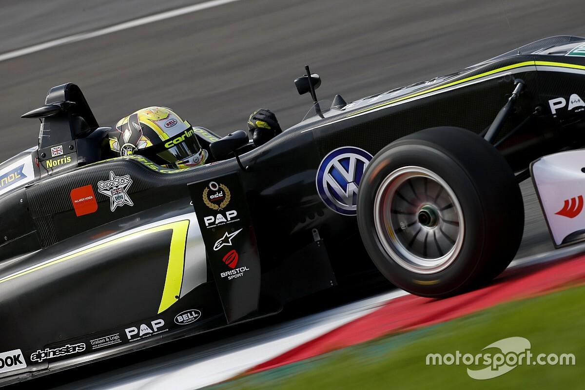 Norris test met F3-auto in voorbereiding op Oostenrijkse GP