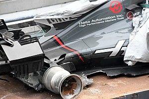 """Haas terima ganti rugi kecelakaan """"aneh"""" di Sepang 2017"""
