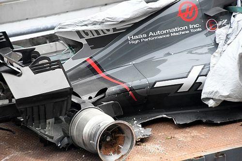 Haas: c'è un bonus al coprifuoco per riparare la vettura di Grosjean