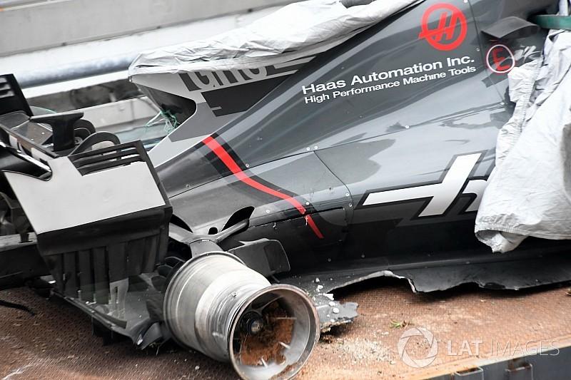 排水溝の蓋にタイヤを切られたグロージャン、サーキットに解決を要求