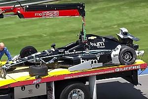 IndyCar Ultime notizie Indy 500: Newgarden sbatte nelle prove libere, pilota illeso