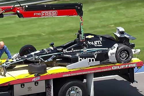 Indy 500: Newgarden sbatte nelle prove libere, pilota illeso