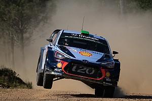 WRC Preview Paddon entrevoit enfin le bout du tunnel