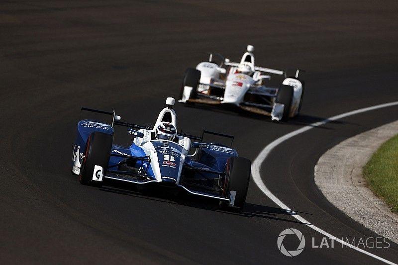 Chilton lidera el último entrenamiento antes de la Indy 500
