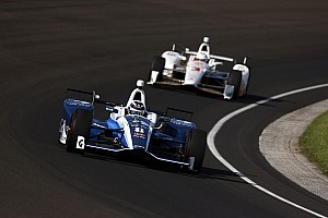 IndyCar Practice report Indy 500: Chilton leads Day 8, Harvey tops no-tow speeds