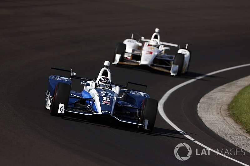 Indy 500: Chilton leads Day 8, Harvey tops no-tow speeds