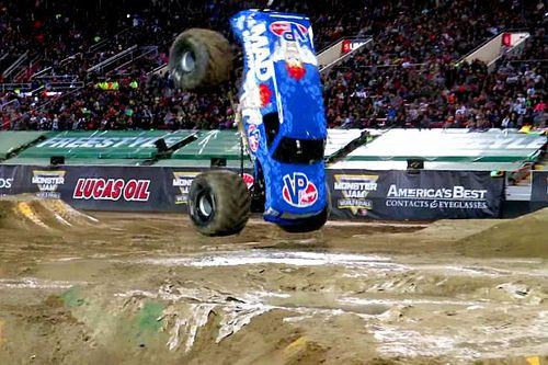 Vídeo: un monster truck que desafía a la física