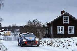 WRC Leg report Sweden WRC: Neuville grabs lead on Friday afternoon loop
