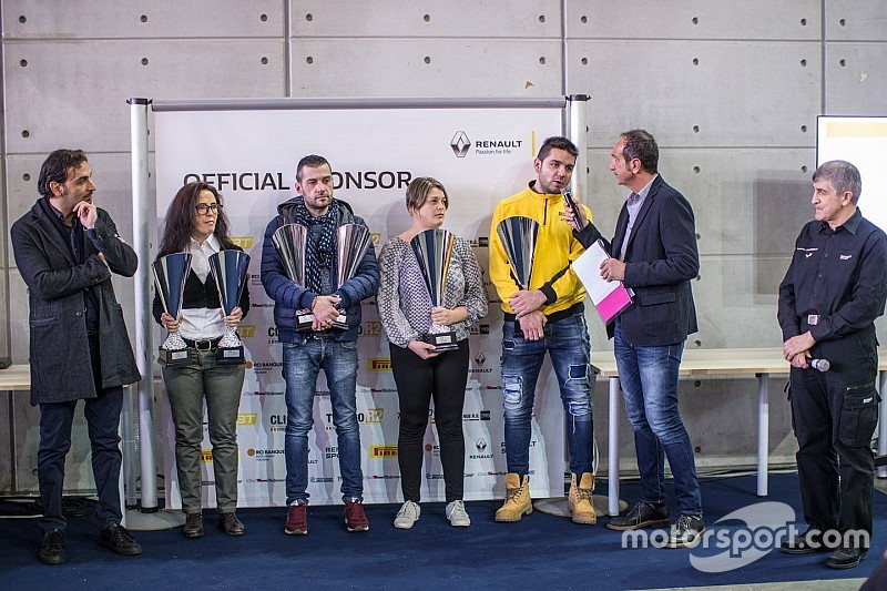 Renault premia i campioni 2016 e svela i programmi 2017 dei Trofey Rally