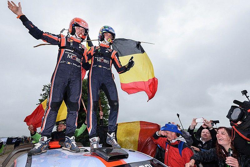 Neuville toma el triunfo en Polonia