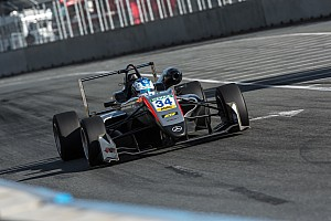 F3 Europe Qualifying report Norisring F3: Hughes beats Norris to pole by 0.002s