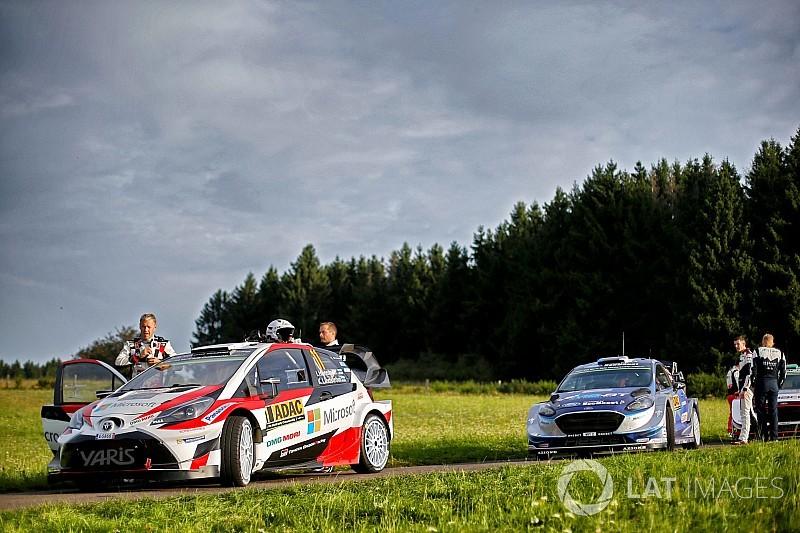 【WRC】トヨタのハンニネン「ドイツは数年ぶり。良い1日になった」