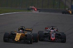 【F1】ヒュルケンベルグ「わずかの差でペナルティを受けることに……」