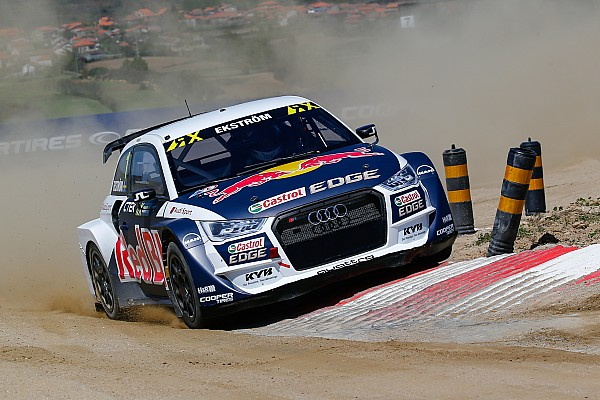 World Rallycross Portugal WRX: Ekstrom fends off Loeb in last-lap thriller
