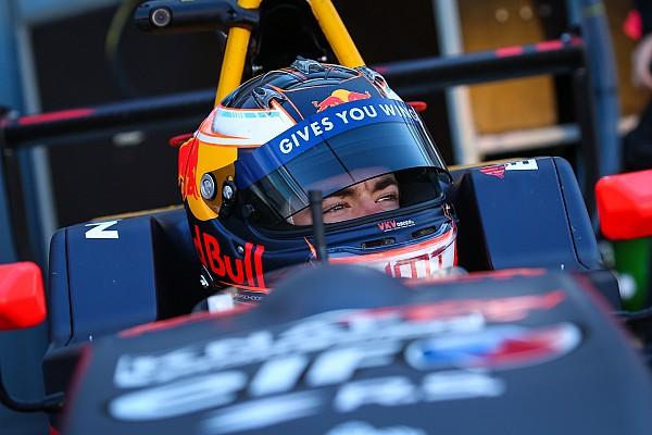 Formule Renault Interview Verschoor realistisch over toekomst bij Red Bull