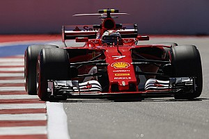 Russian GP: Raikkonen puts Ferrari on top in FP1