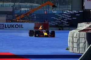 【F1】フェルスタッペン「Q3は、セクター3でリヤのグリップを失った」