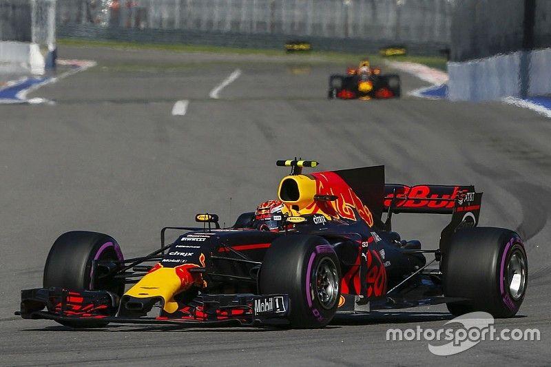 """Verstappen over P5 in Rusland: """"Het was een saaie race"""""""