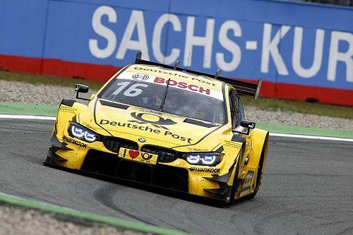 Hockenheim DTM: Glock prevails in damp Sunday qualifying