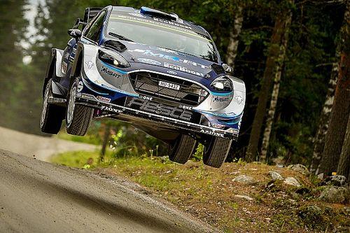 Ott Tanak toma el liderato en Finlandia