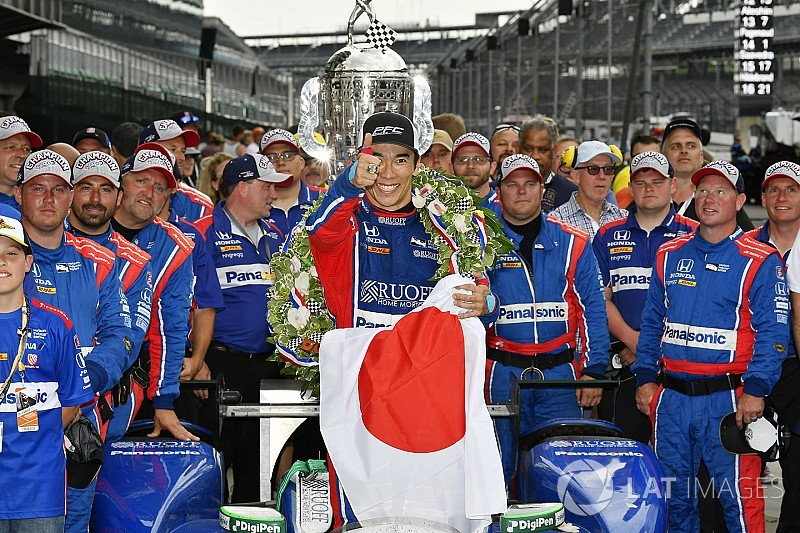 "Writer fired after ""unacceptable"" tweet about Sato's Indy 500 win"